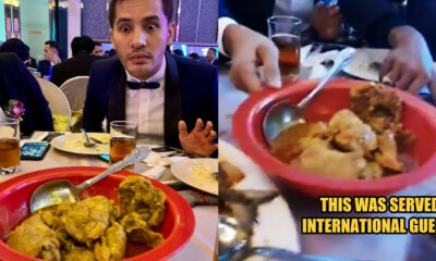 Guests at Malaysian Prestigious Business Awards were Served with Pasar Malam Plastic Bowl - WORLD OF BUZZ