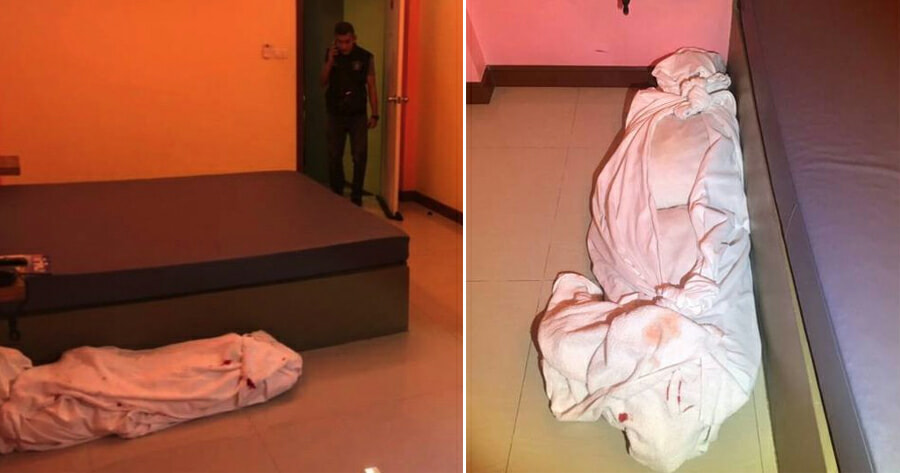 Horrifying Moment Hotel Staff Finds Bloody 'Corpse' Beside the Bed, But Po - WORLD OF BUZZ 2