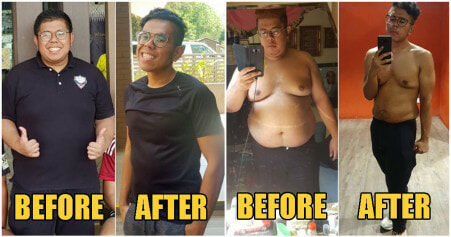 Inspiring 22yo Man Transforms From Obese to Fit By Losing 41kg in Just 7 Months! - WORLD OF BUZZ