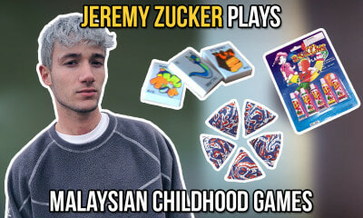 Jeremy Zucker plays Malaysian Childhood Games - WORLD OF BUZZ