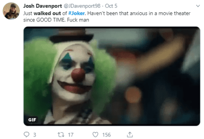 Joker Viewers Worldwide Walk Out of Cinema Because The Film Was Apparently Too Violent - WORLD OF BUZZ 1