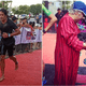 Khairy Jamaluddin Adorably Receives Medal From His Mum at Ironman Langkawi Finish Line - WORLD OF BUZZ