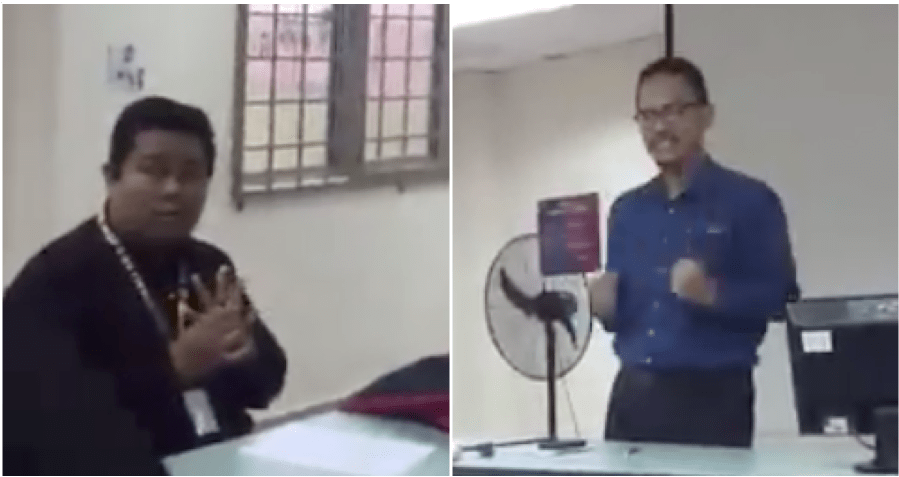 Lecturer Pranks Student Who Showed Up Late To His Class - WORLD OF BUZZ 4