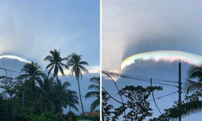 Local Photographer Captures Gorgeous and Other-Worldly Rare Natural Phenomenon in Kuantan - WORLD OF BUZZ