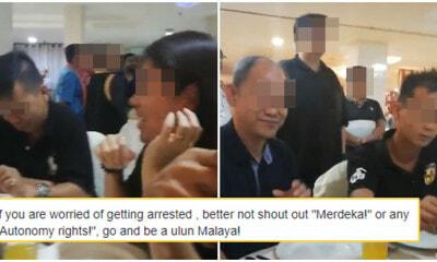 """Malaya has robbed Sarawak"" Says Sarawak Protestor After Refusing To Stand For Negaraku - WORLD OF BUZZ"