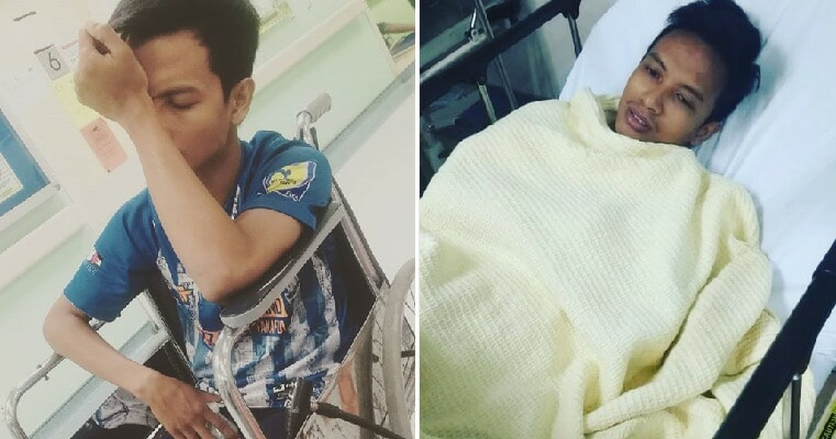 Malaysian Guy Loses His Memory After He Hit His Head While Playing Futsal - WORLD OF BUZZ