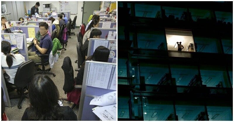 Malaysians Share Experiences Of Working Late, Adds That It Is Expected - WORLD OF BUZZ