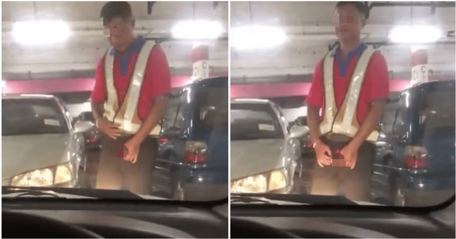 Man Masturbates While Standing In Front Of Victims Car In A Parking Lot In Ipoh - WORLD OF BUZZ 3