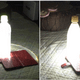 Man Uses Water Bottle, Milk And Smartphone To Make Lamp After Super Typhoon Knocked Out Power In Japan - WORLD OF BUZZ 3