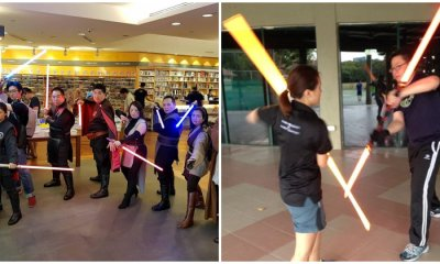 Meet Malaysia's Legit Jedi Masters That Perform For FREE Just to Contribute to Charity - WORLD OF BUZZ