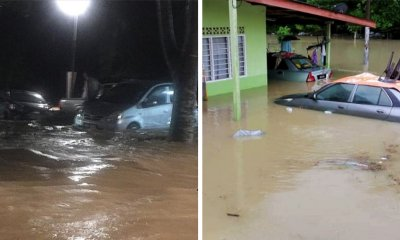 MET: More Heavy Rain Expected, 1,200 M'sians Already Evacuated From Floods - WORLD OF BUZZ 1