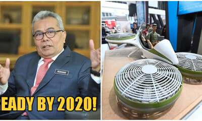 Minister: Flying Cars Will Be Launched By 2020, Allows Travel From KL to Penang In 1 Hour - WORLD OF BUZZ