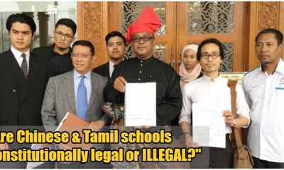 M'sian Lawyer Files Suit In Federal Courts Saying That Vernacular Schools Are Unconstitutional - WORLD OF BUZZ