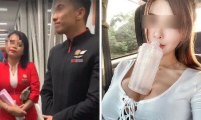 M'sian Model Tries to Viral AirAsia Staff Who Didn't Let Her Use Toilet Before Landing, Gets Schooled by Netizens - WORLD OF BUZZ