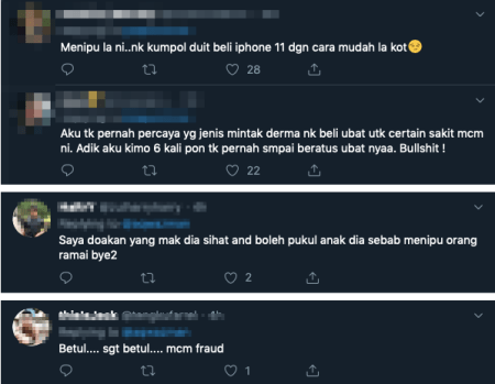 M'sian Twitter User Tries To Start A Crowdfund For Breast Cancer Mum, Netizens Suspicious That He Might Be A Scammer! - WORLD OF BUZZ 8