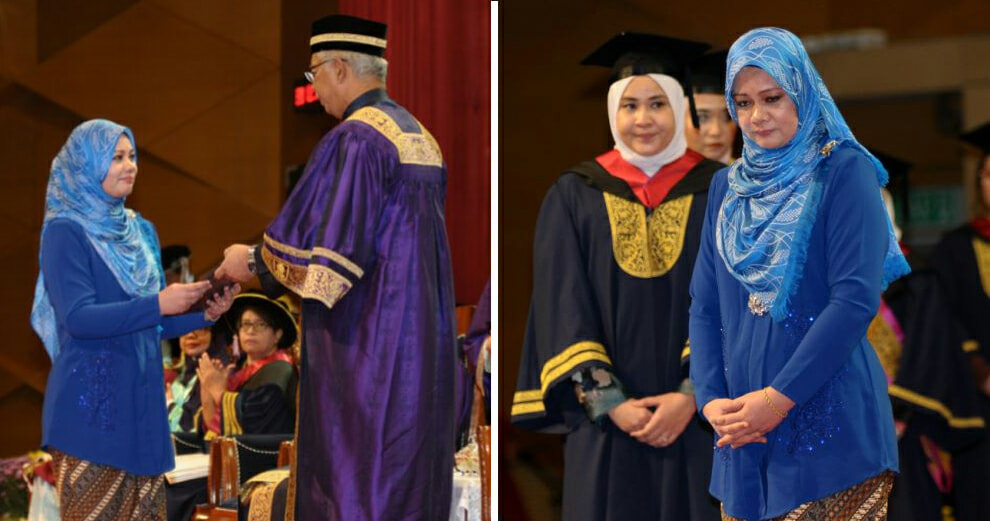 M'sian Woman Attended Convocation for Her Late Husband, Who Died of Cancer Just 4 Days After Diagnosis - WORLD OF BUZZ 3