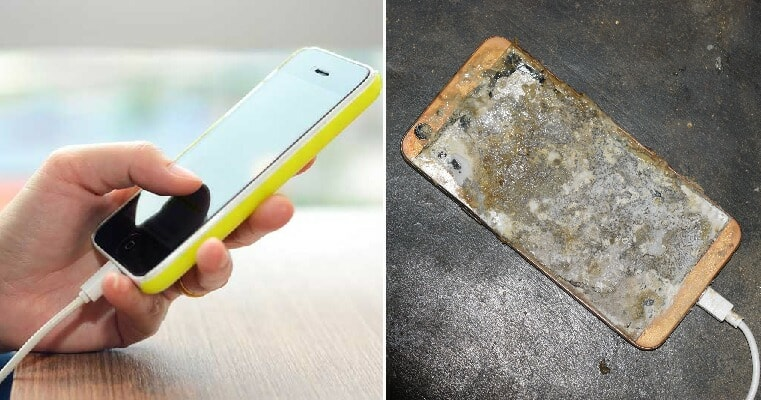 M'sian Woman Injured After Charging Mobile Phone She Was Using Exploded During Thunderstorm - World Of Buzz 2