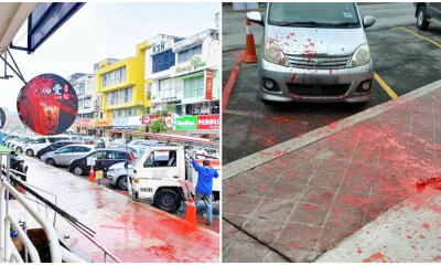 M'sian Xin Fu Tang Outlets Vandalised With Red Paint Amid Claims of Dispute Between Operators - WORLD OF BUZZ