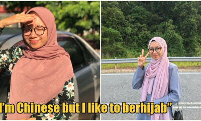Netizens Rave Over Stunning Chinese Non-Muslim M'sian Girl Who Incorporates Hijab Into Everyday Fashion - WORLD OF BUZZ