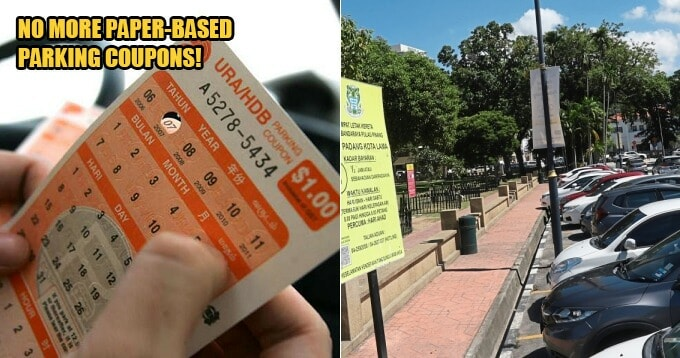 Paper-Based Parking Coupons Will No Longer Be Sold In Penang, Drivers Must Use App In 2020 - WORLD OF BUZZ