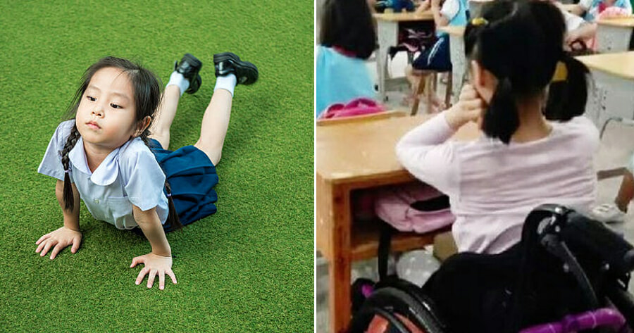 8yo Paralysed in Lower Half of Body After Being Forced to do Push-Ups in School as Punishment - WORLD OF BUZZ