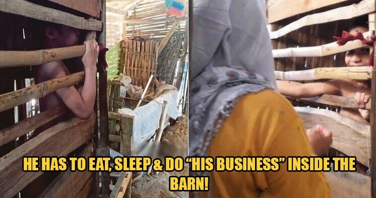 Parents Lock OKU Kid Inside Chicken Barn Because They Can't Take Care Of Him During Work Hours - WORLD OF BUZZ