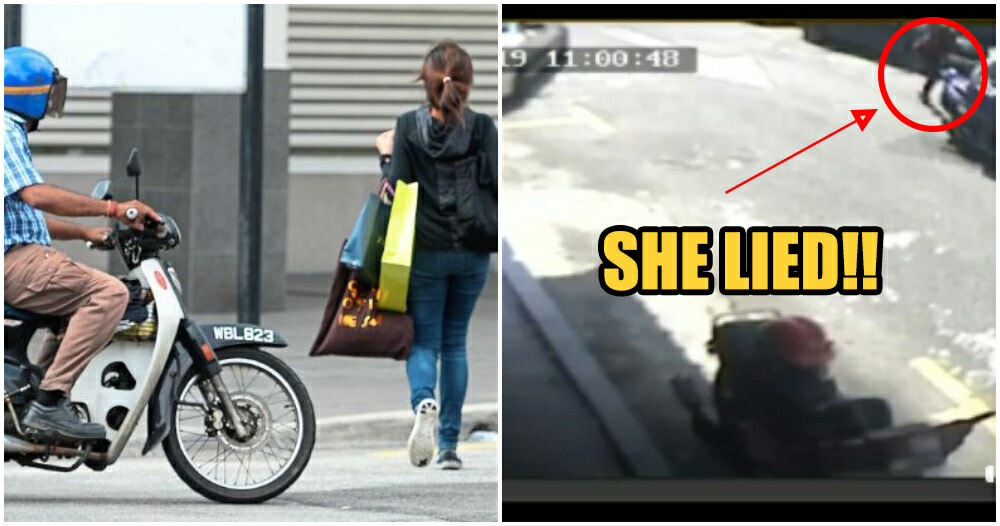 Penang Girl Says RM17,500 of Company Money Stolen by Snatch Thief, But She Planned The Whole Thing - WORLD OF BUZZ