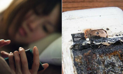14yo Dies After Phone Battery Overheats & Explodes While She Was Listening to Music Overnight - WORLD OF BUZZ