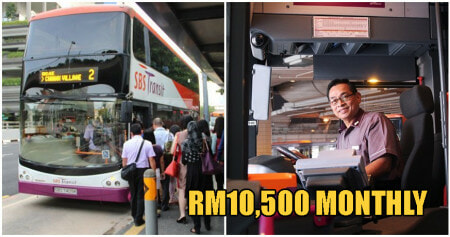 RM9.9K Salary, 21 Days Annual Leave & Signing Up Bonuses Offered To New SG Bus Drivers! - WORLD OF BUZZ