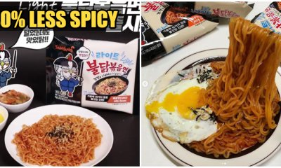 "Samyang Korea Now Has 40% Less Spicy ""Light"" Noodles For Those Who Can't Tahan Pedas! - WORLD OF BUZZ 2"
