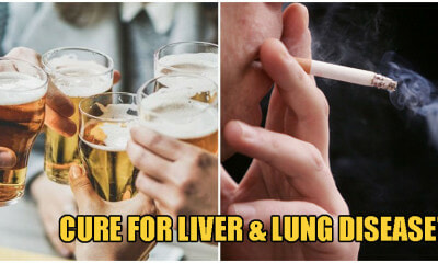 Scientists May Soon CURE Liver & Lung Disease Caused By Excessive Drinking & Smoking! - WORLD OF BUZZ