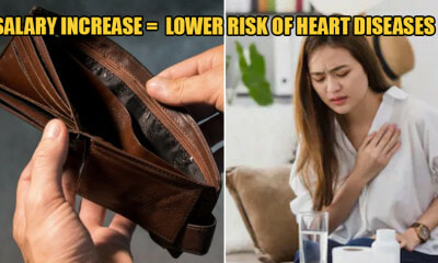 Study Shows That a 50% Pay Raise Lowers the Risk of Cardiovascular Diseases by 15% - WORLD OF BUZZ