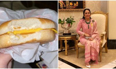 Tengku Puteri Jihan Got a Cheeseburger Without The Burger Meat, But Handles It Like a #Queen - WORLD OF BUZZ
