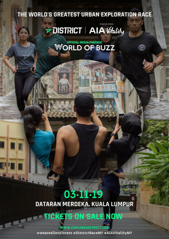 [TEST] World's Greatest Urban Exploration Race in KL: 100 Checkpoints, 2 Categories & Uses Augmented Reality! - WORLD OF BUZZ 3