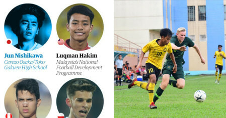 This 17yo M'sian Was Just Named One The World's 60 BEST Young Football Talents! - WORLD OF BUZZ