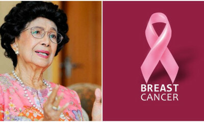 Tun Siti Hasmah Battled Breast Cancer in March, Urges Women To Not Be Shy With Their Illnesses - WORLD OF BUZZ