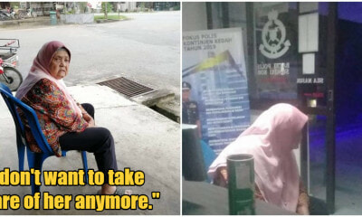 Ungrateful Daughter Abandons 80yo Mum At Kedah Grocery Store With Just A Bag Of Clothes - WORLD OF BUZZ 4