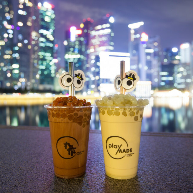 Wasabi Milk Tea with Wasabi Pearls & Mala Pearls Are Now Available & We Are Confused - WORLD OF BUZZ 2