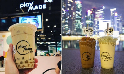 Wasabi Milk Tea with Wasabi Pearls& Mala Pearls Are Now Available & We Are Confused - WORLD OF BUZZ 4