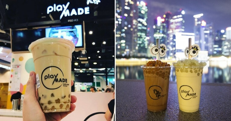 Wasabi Milk Tea with Wasabi Pearls & Mala Pearls Are Now Available & We Are Confused - WORLD OF BUZZ 4