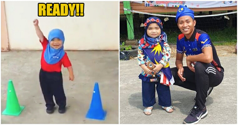Watch: Adorable Special Need Student Nailing Teacher's DIY Ninja Warrior Course - WORLD OF BUZZ