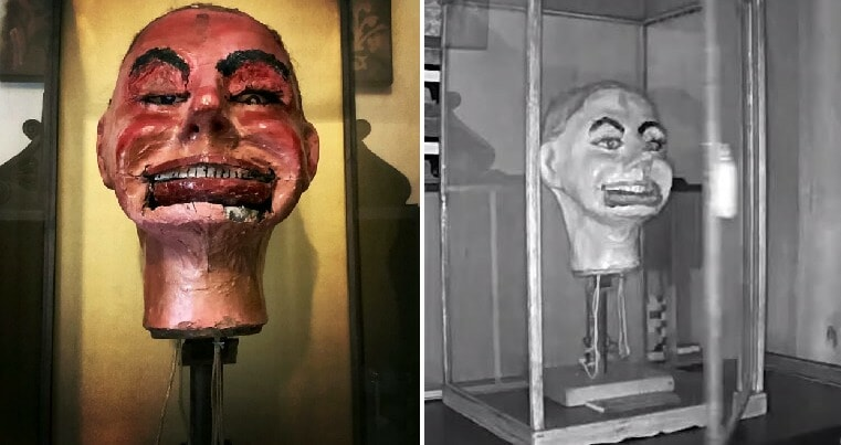 Watch: Creepy Ventriloquist Doll Opens Latched Case Then Blinks Eyes & Opens Mouth - WORLD OF BUZZ 7