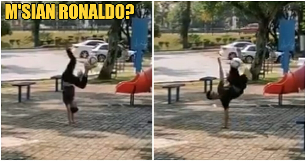 Watch: Selayang Teen Amazes Netizens With His Freestyling Abilities, Comparable To Ronaldo - WORLD OF BUZZ 7