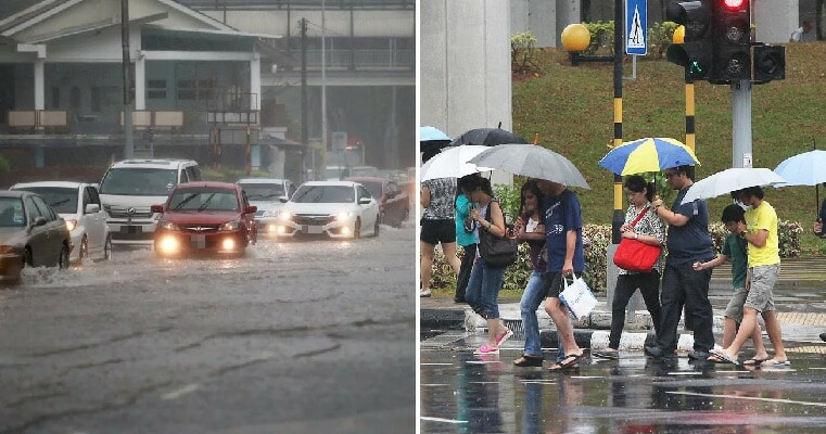 Wet Season Continues As M'sians Brace for Heavy Rain & Thunderstorms Expected This Whole Week - WORLD OF BUZZ 2
