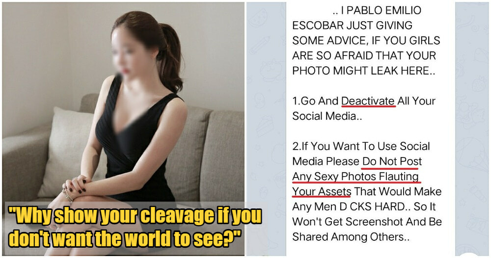 """""""Who ask you to dress sexily?"""" Man Disgustingly Objectifies Women In Telegram Group - WORLD OF BUZZ"""