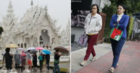 Winter is Coming As Thailand Temperatures Expected to Go As Low As 7°C from Dec - WORLD OF BUZZ 2