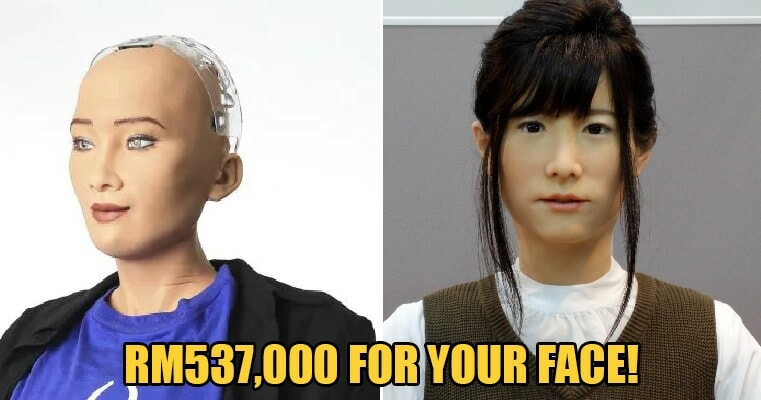You Can Sell Your Face for RM537,000 To This Company To Be Used On Their Robots - WORLD OF BUZZ 2