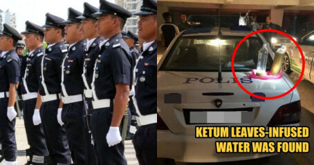 14 Police Officers Ponteng Work to Have a Drug Party at a Public Parking Lot at Shah Alam - WORLD OF BUZZ
