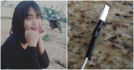 17yo Girl Dies After Tape Wrapped Around Her Broken Charging Cable Tears, Gets Electrocuted - WORLD OF BUZZ
