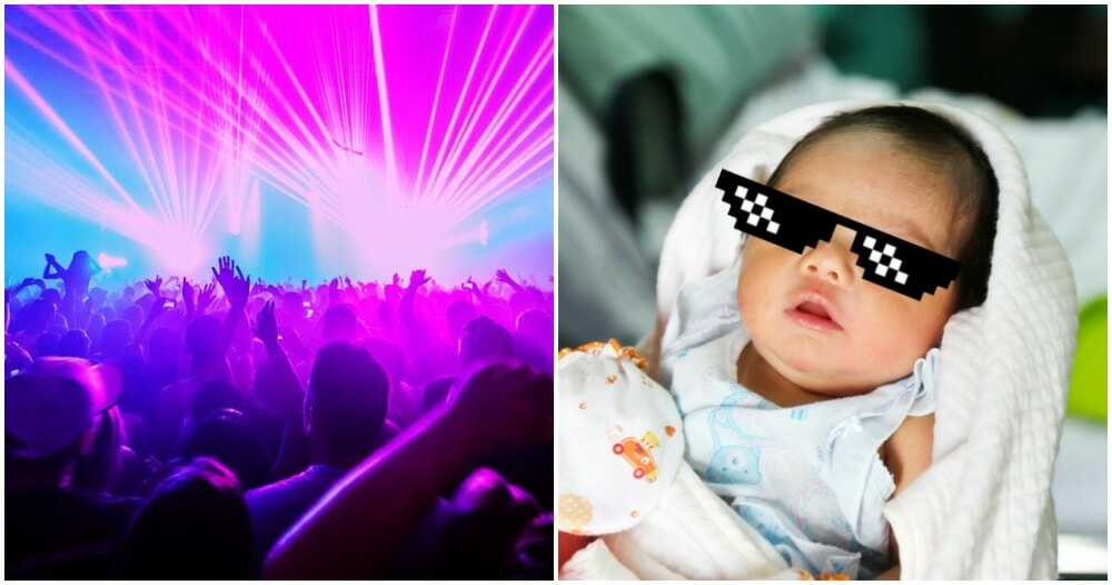 19yo Teenager Gives Birth To Baby Boy In Night Club, Baby Has Free Entry For Life - WORLD OF BUZZ 2